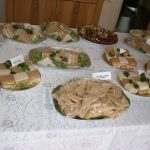 There was a large and varied afternoon tea buffet enjoyed by listeners and volunteers alike.
