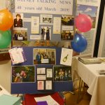The WTN 40th Anniversary Publicity Display had previously been shown in Witney Library.