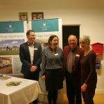 Staff from Richmond Witney Retirement Complex at their stand with WTN Chairman, Peter Brading.
